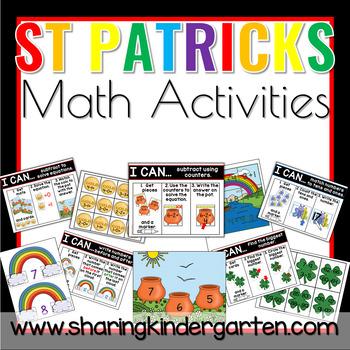 St. Patricks Math Activities