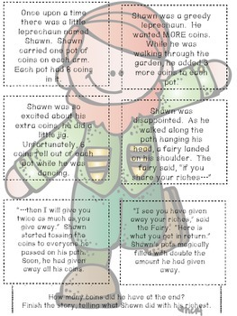 Shamrockin' St. Patrick's Day Math Review