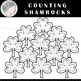 Shamrocks Clipart - Counting Clipart - St. Patrick's Day Clipart