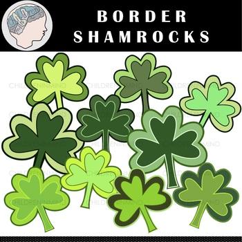 Shamrocks Clipart - St. Patrick's Day Clipart