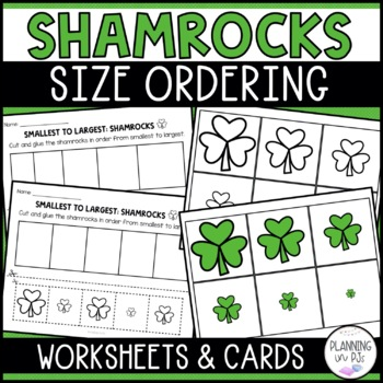 Shamrocks - From Smallest to Largest