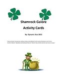 Shamrocks Galore Activity Cards-St. Patrick's Day
