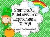 Shamrocks, Rainbows, and Leprechauns Oh My! { A March Fun