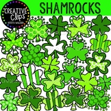 Shamrocks: St. Patrick's Day Clipart {Creative Clips Clipart}