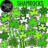 Shamrocks: St. Patrick's Day Clipart {Creative Clips Clipart}