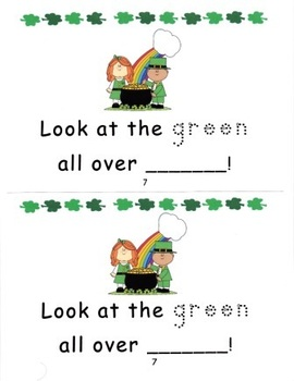 Shamrocks and Leprechauns Saint Patrick's Day Math and Literacy Fun Pack
