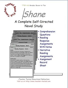 Shane: A Complete Novel Study