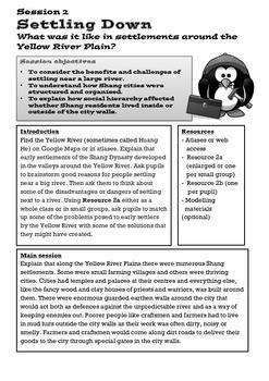 Shang Dynasty of Ancient China Lesson 2: Shang Settlements