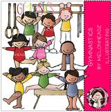 Shannon's gymnastics clip art - COMBO PACK- by Melonheadz