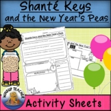 Shante Keys and the New Year's Peas Activity Sheets | Print and Go!