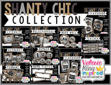 Shanty Chic Collection: Classroom Decor Bundle (Industrial
