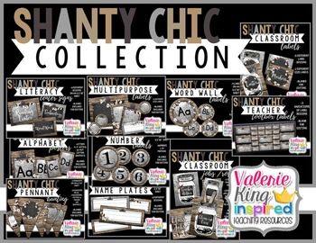Shanty Chic Collection: Classroom Decor Bundle