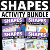 Shape Activities Bundle | Shapes for Preschool and Pre-k