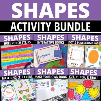 Shape Activities Bundle | Shapes for Preschool and Pre-k