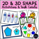 Shape Activities, Resources & Task Cards Bundle