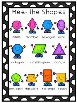 Shape Activities and Anchor Charts