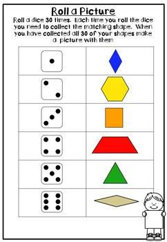 2D Shape Activities (Pattern Blocks)