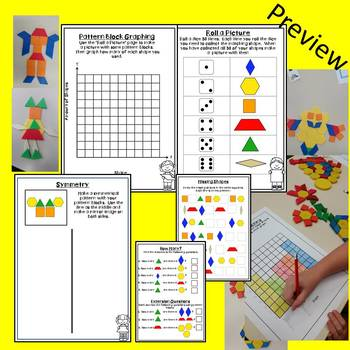 2D Shape Activities (Pattern Blocks)