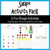 Shape Activity Pack (Lower Elementary - NO PREP, Print & Go)