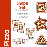 Shape Activity Printable Set - Pizza Theme
