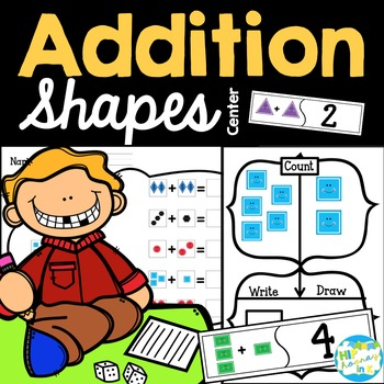 Addition Shapes - Early addition with shapes!