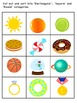 Shape Adjective / Concept Learning Package inc. Rectangular, Square and Round