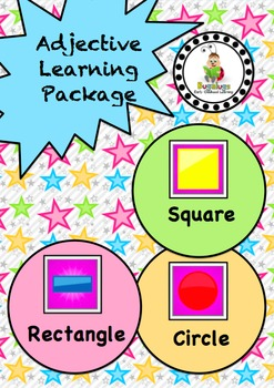 Shape Adjective / Concept Learning Package inc. Rectangula