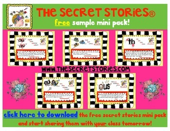 FREE Shape Anchors with SECRET STORIES® Phonics Secrets!