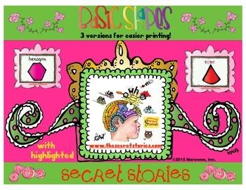 Shape Anchors with SECRET STORIES® Phonics Secrets!