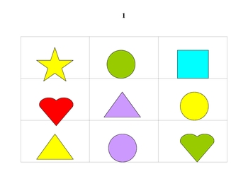 Shape and Color Games