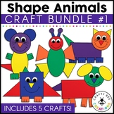 Shape Animal Crafts Bundle 1