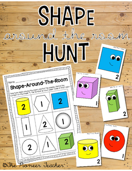 Shape Around The Room Hunt