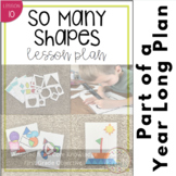 Shape Art Lesson Plan and Activities