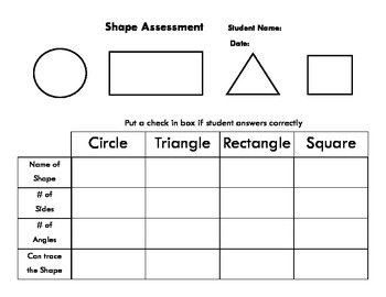Shape Assessment