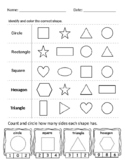 Shape Assessment: Identification and Number of Sides