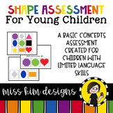 Shape Assessment for Students with Autism & Special Needs
