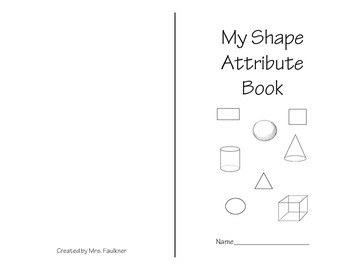 Shape Attribute Book