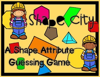 Shape Attribute Game