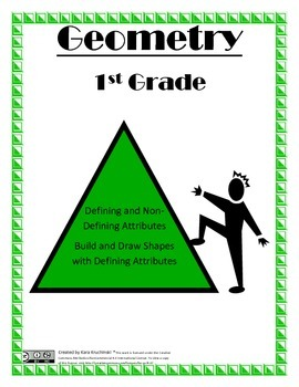 Shape Attribute Lesson Plan - 1st Grade