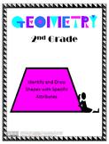 Shape Attribute Lesson Plan -2nd Grade