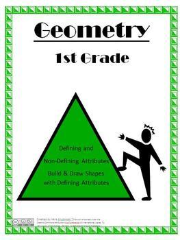 Shape Attribute Lesson Plans - 1st Grade