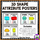 Shape Attribute Posters