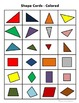 Shape Attribute Posters and Sorting Activity