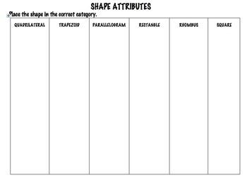 Shape Attributes
