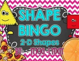 Shape BINGO 2D & real-life objects