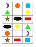 Learning Games: Shape BINGO Boards