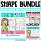 Shape BUNDLE! (2 & 3 Dimensional Shapes) 9 SHAPE PACKS 1/2 PRICE