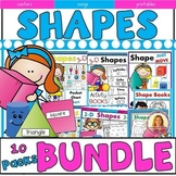 SHAPE MEGA  BUNDLE! (2 & 3 Dimensional Shapes) 10 SHAPE PACKS 1/2 PRICE