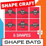 Shape Bat Craft / Halloween Bat Craft / Shape Unit