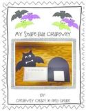 Shape Bat Craftivity with Habitat-CCSS Aligned